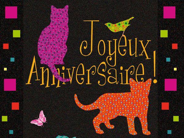 Joyeux anniversaire mon chaton - Anniversaire ado fille ...