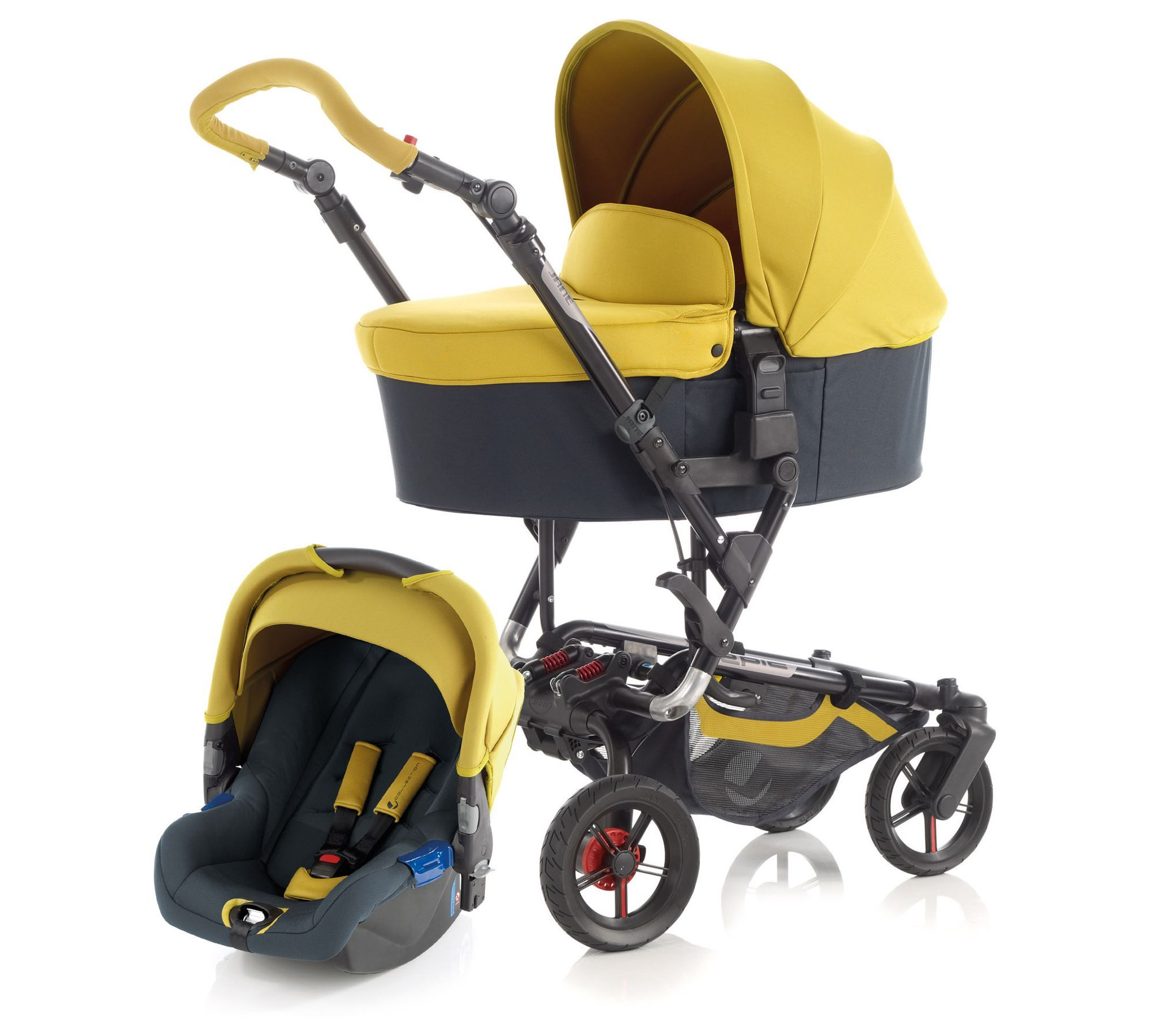 Jané Epic, Koos & Nano Pram and Pushchair Travel System