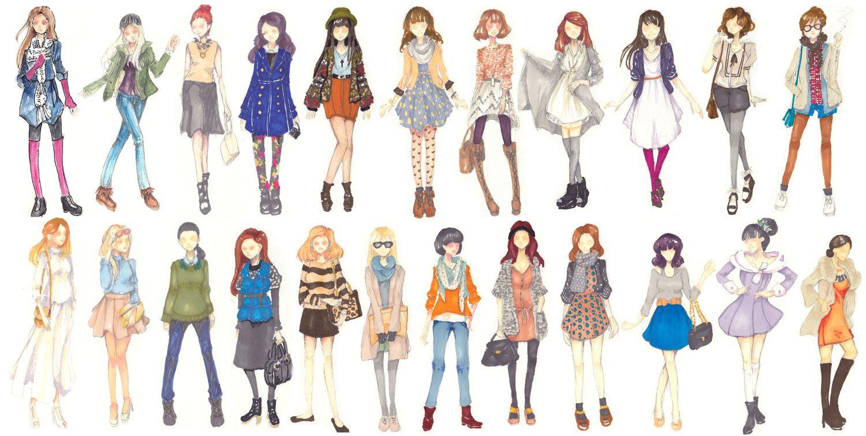 Fashion Doodles by amyanimalover on deviantART  Fashion