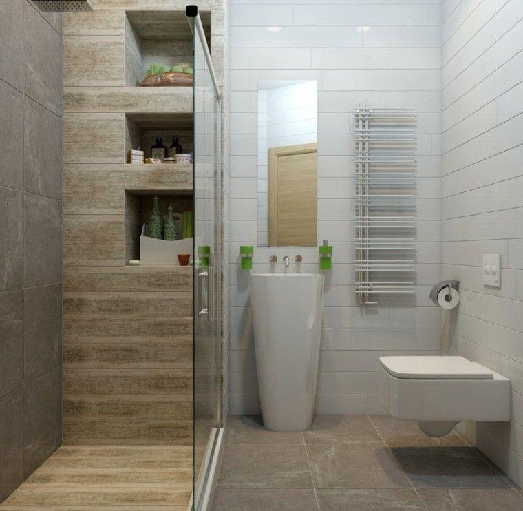 ba o peque o con cabina de ducha ideas para el hogar