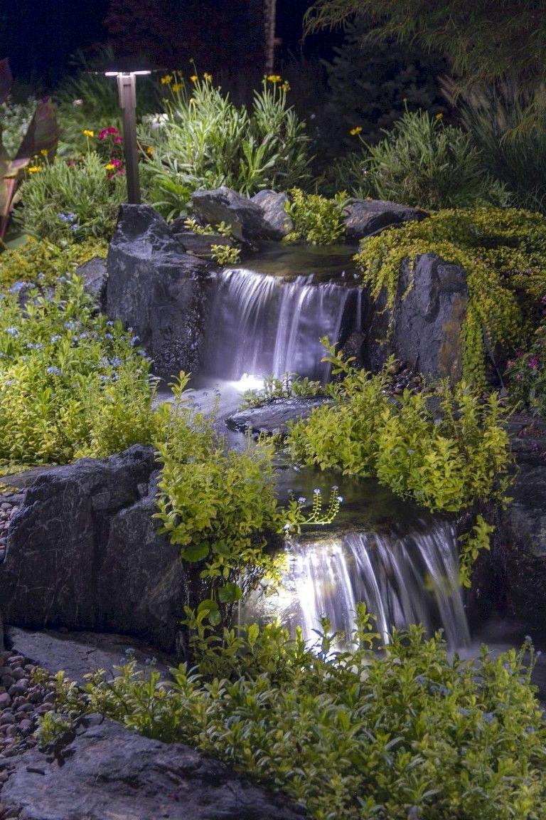 95 Beautiful Backyard Waterfall Ideas On A Budget Waterfalls
