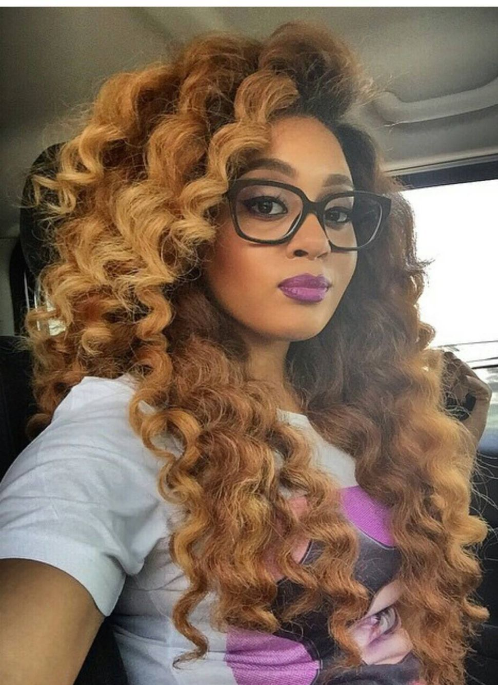 I wonder if this look can be achieved with crochet braids