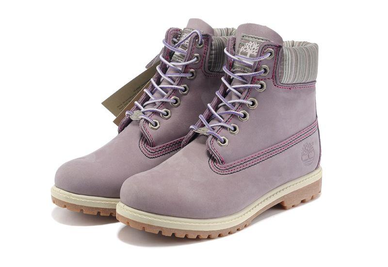Timberland Mens/Womens 6-Inch Premium Waterproof Boots Purple