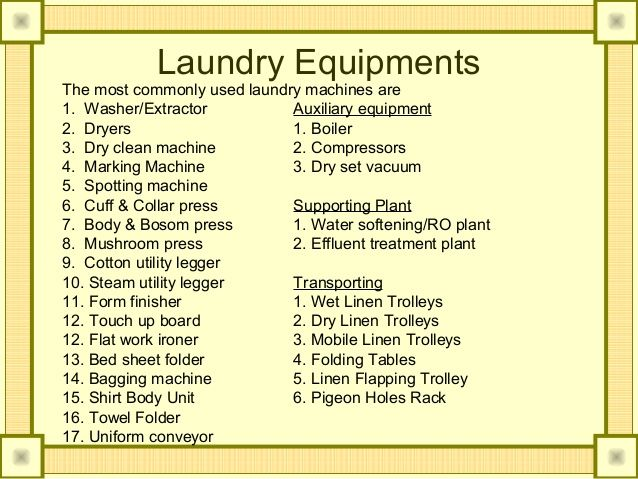 Laundry Chemicals Used In Hotels Google Search Laundry