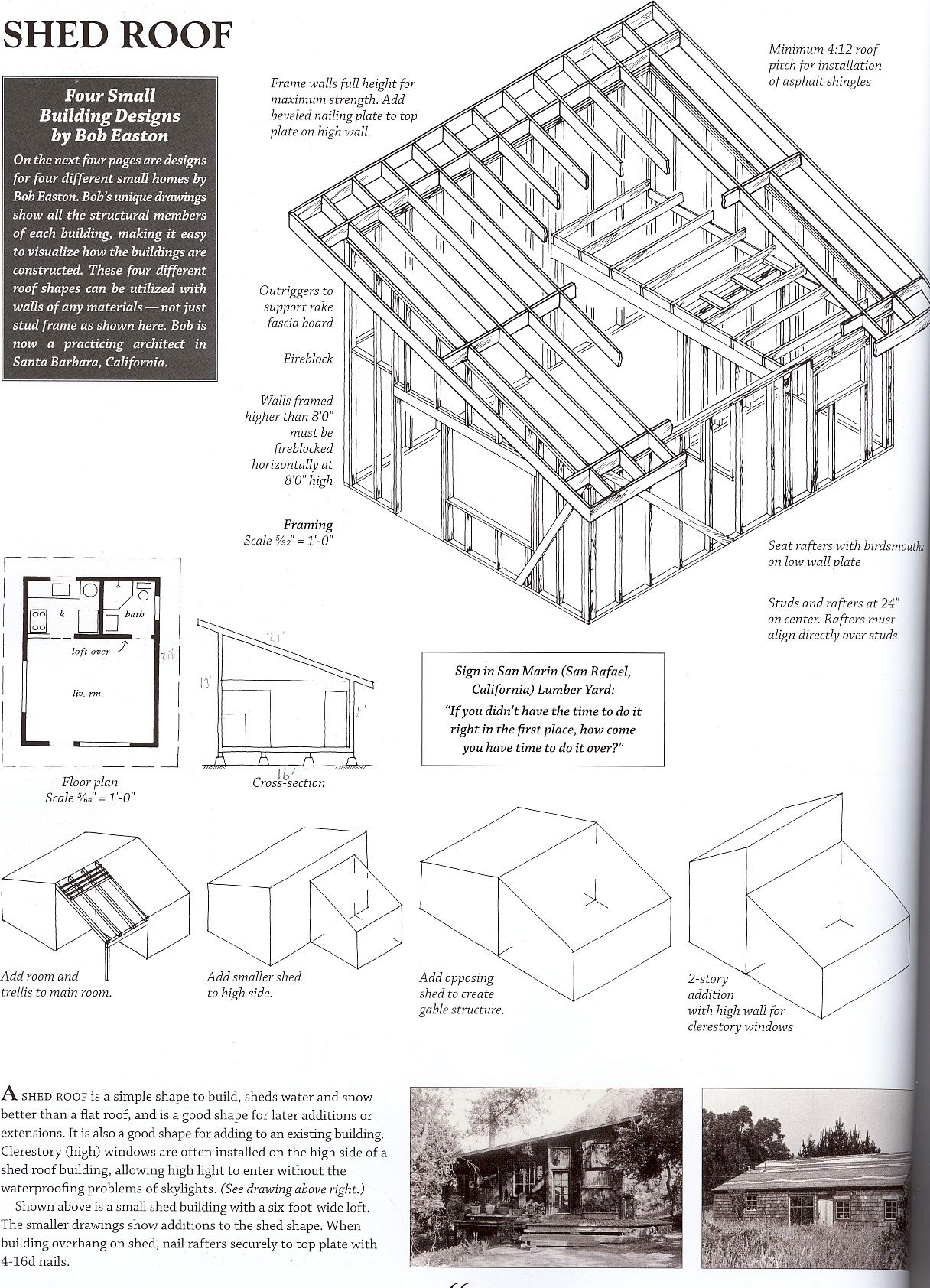 hight resolution of shed roof