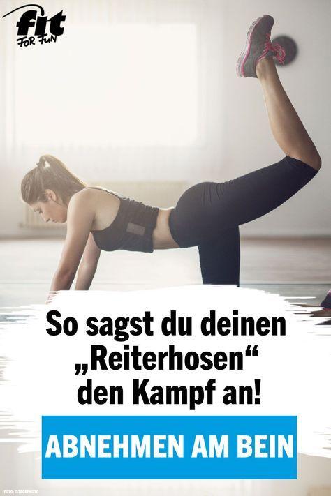 "Photo of Abnehmen am Bein: Sag deinen ""Reiterhosen"" den Kampf an! – FIT FOR FUN"