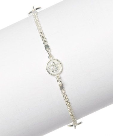 Another great find on #zulily! Sterling Silver Coin Charm Bracelet #zulilyfinds