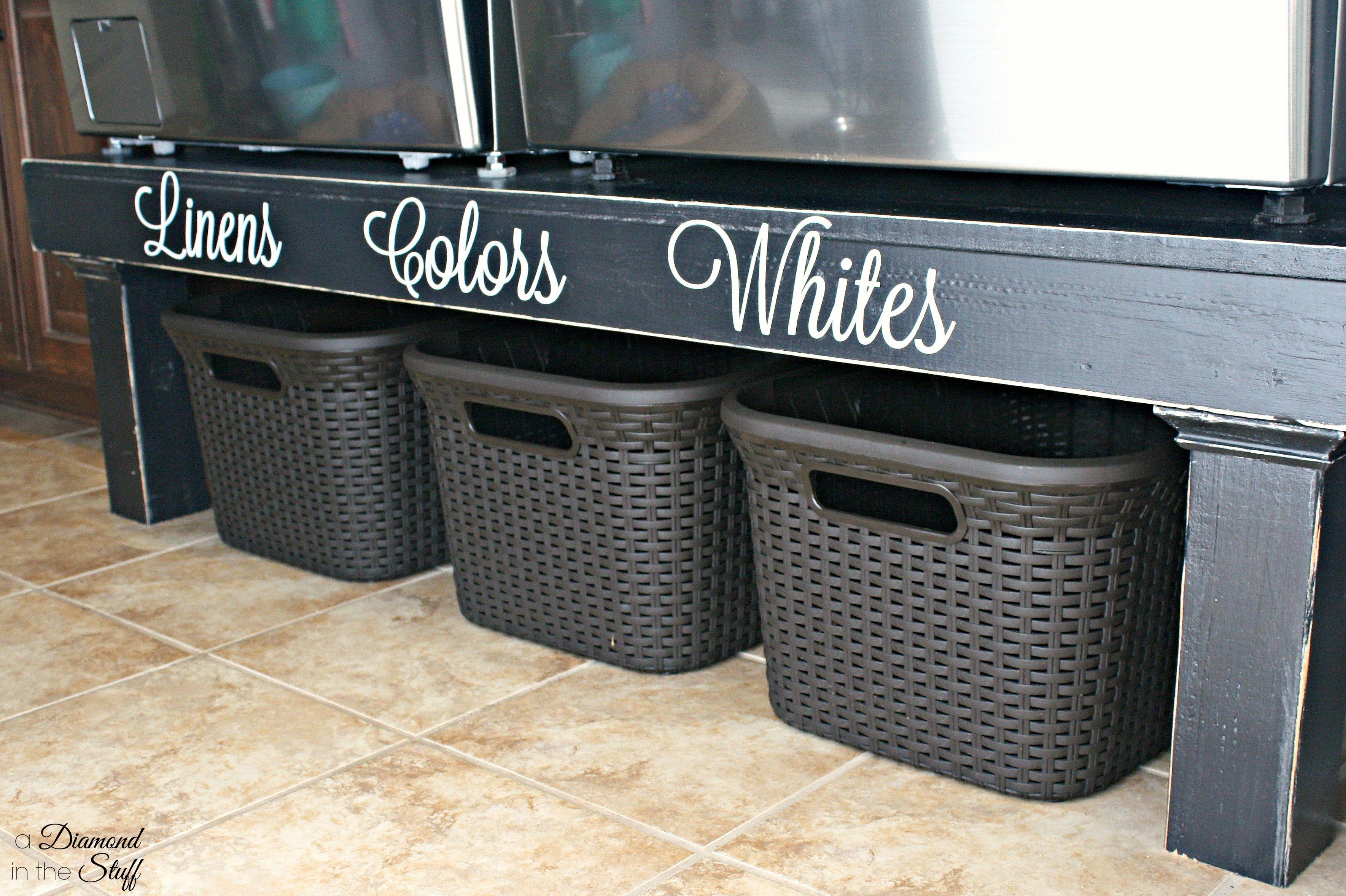 Diy Washer And Dryer Pedestal