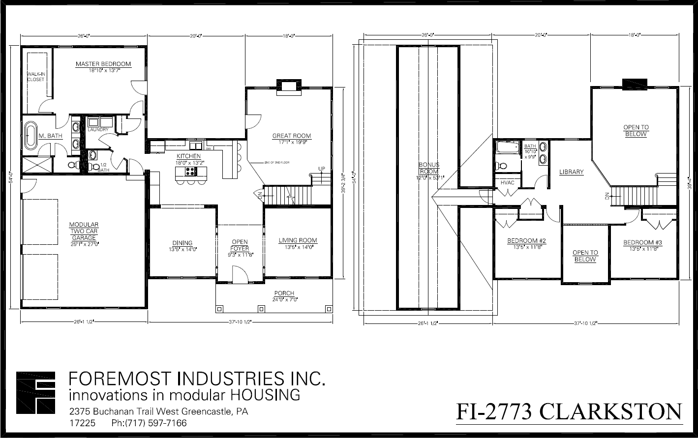 the new fi 2773 clarkston model home brought to you by foremost