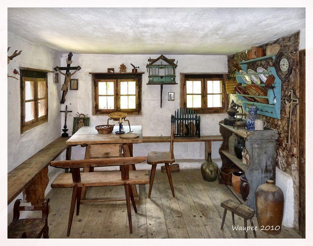 Bauernstube von Waupee   grumbir   Pinterest   Miniatur, Wohnen und ...
