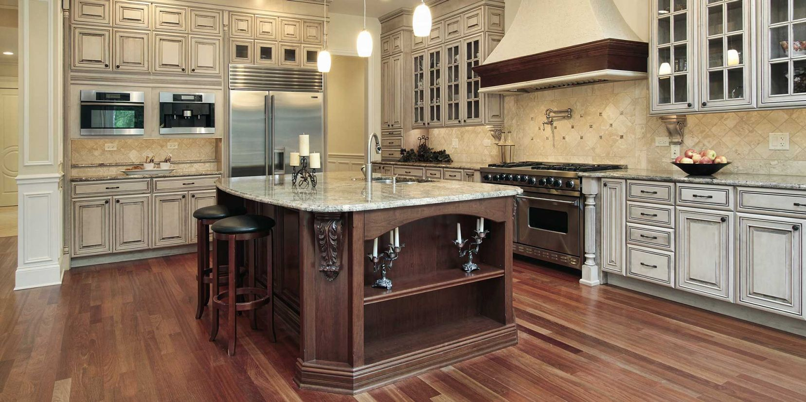 Elegant Kitchen Granite Countertop Ideas