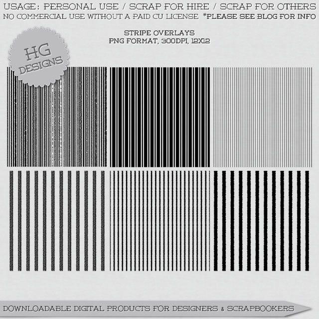 Scrapbooking TammyTags -- TT - Designer - HG Designs, TT - Item - Page Overlay, TT - Pattern - Stripes
