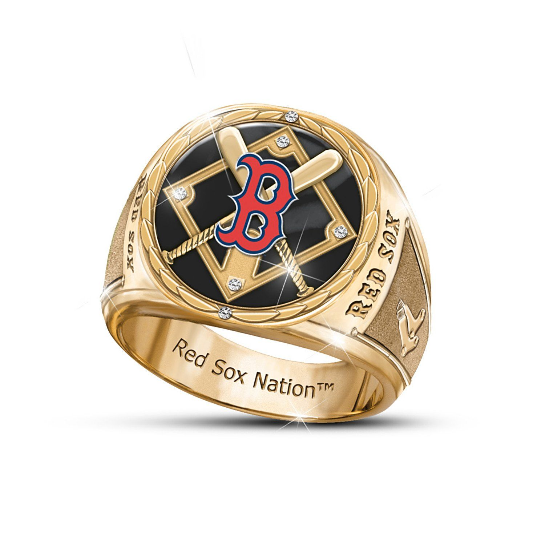 Mens Ring Stainless Steel Pride Of Boston Commemorative Ring By The Bradford Exchange 14 Cl Rings For Men San Francisco Giants Mens Stainless Steel Rings