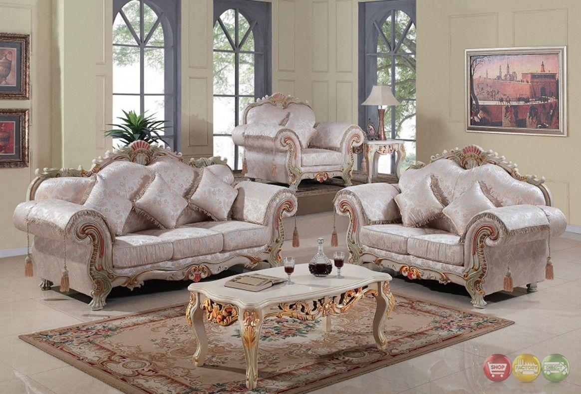 formal luxury sofa set traditional living room furniture | Living ...