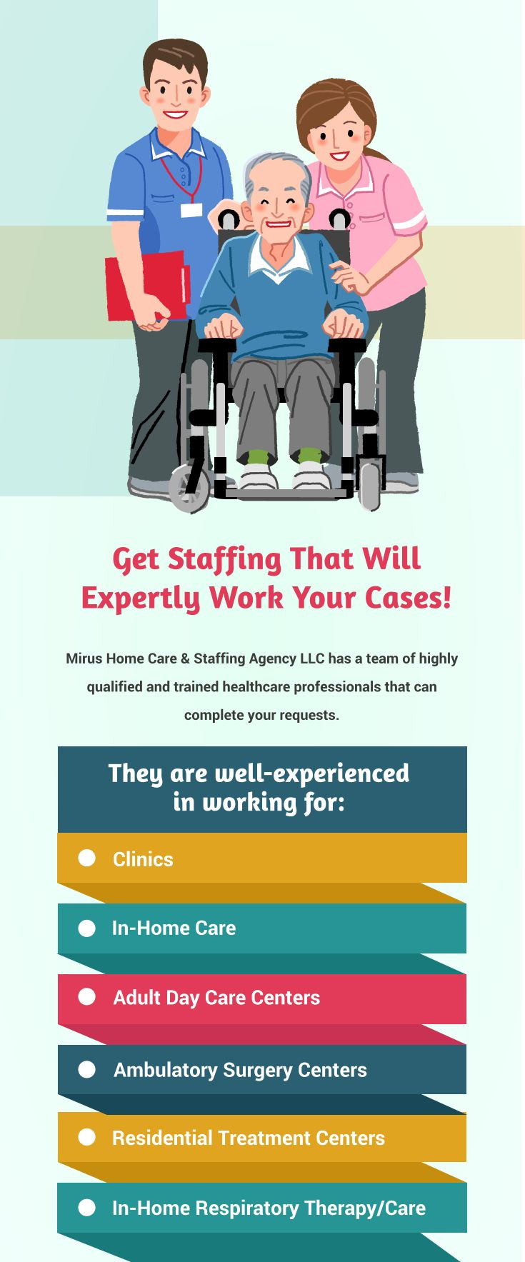 Get staffing that will expertly work your cases