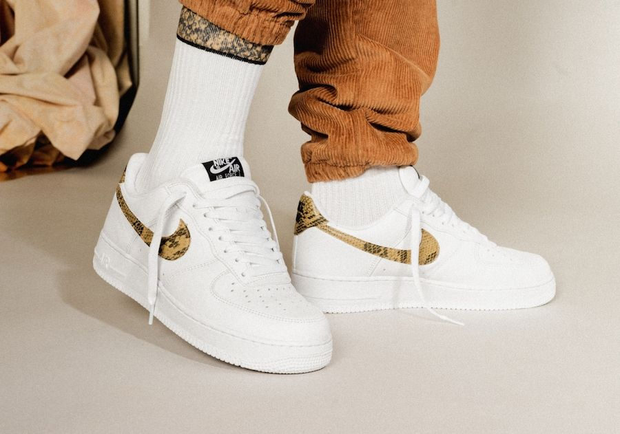 Nike Air Force 1 Low Prm QS Ivory Snake