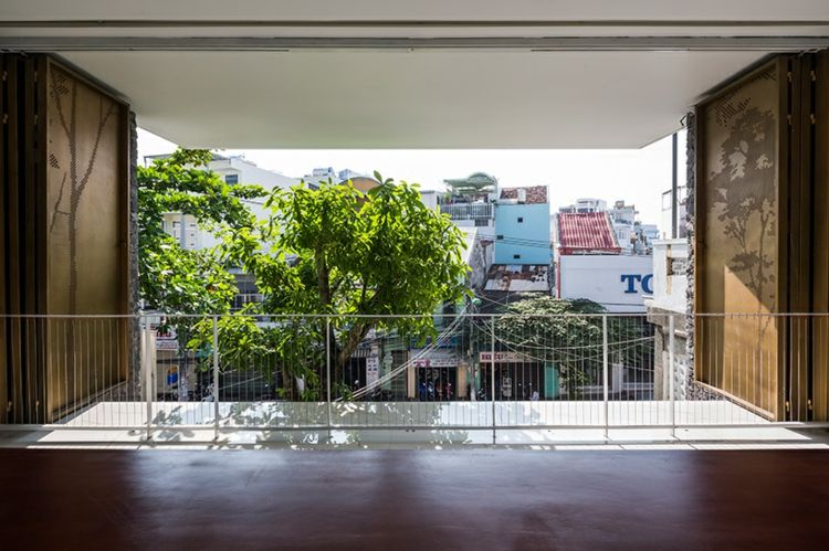 aussicht terrasse geländer haus mit dachgarten #dreamhouse #house ...