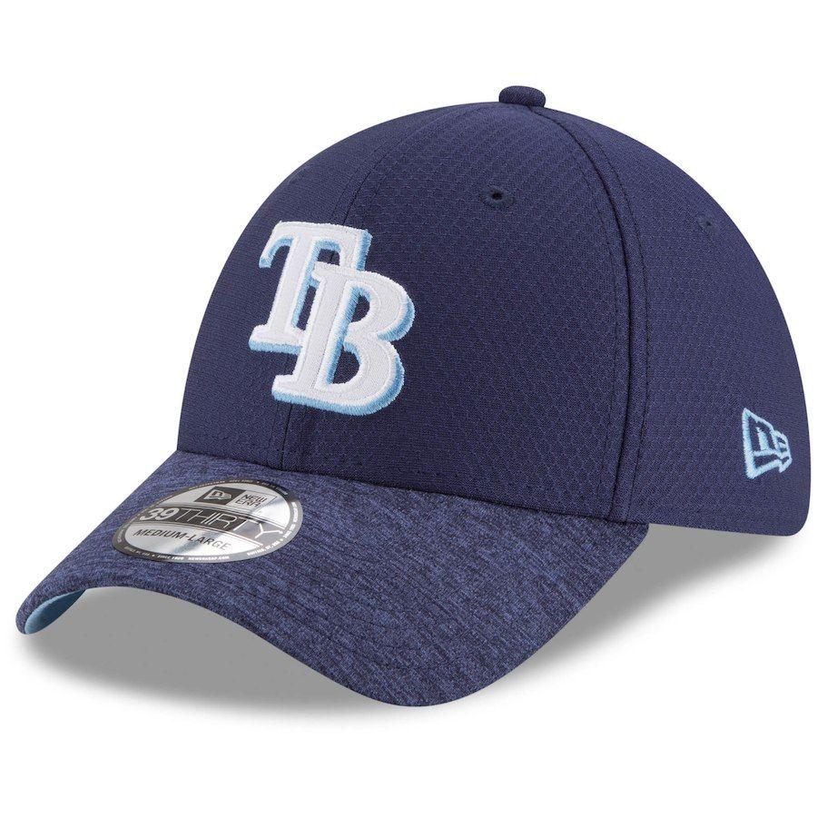 the best attitude e95b7 d9a97 Men s Tampa Bay Rays New Era Navy Popped Shadow 39THIRTY Flex Hat,  29.99