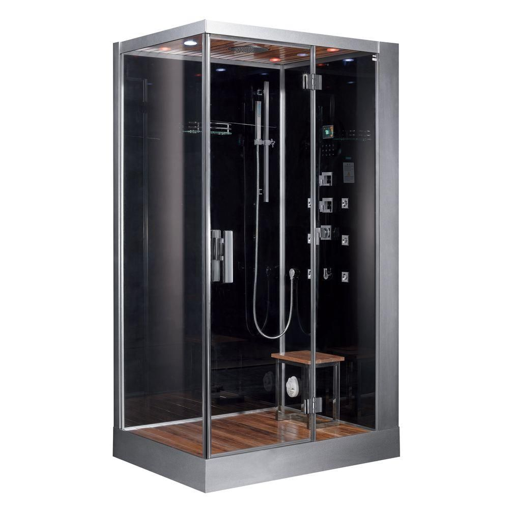 Ariel 47 In X 35 4 In X 89 1 In Steam Shower Enclosure Kit In