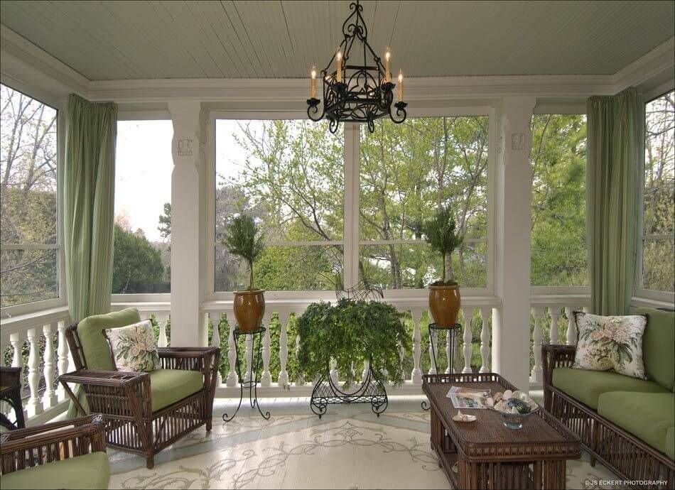50 covered front home porch design ideas - Screened In Porch Design Ideas