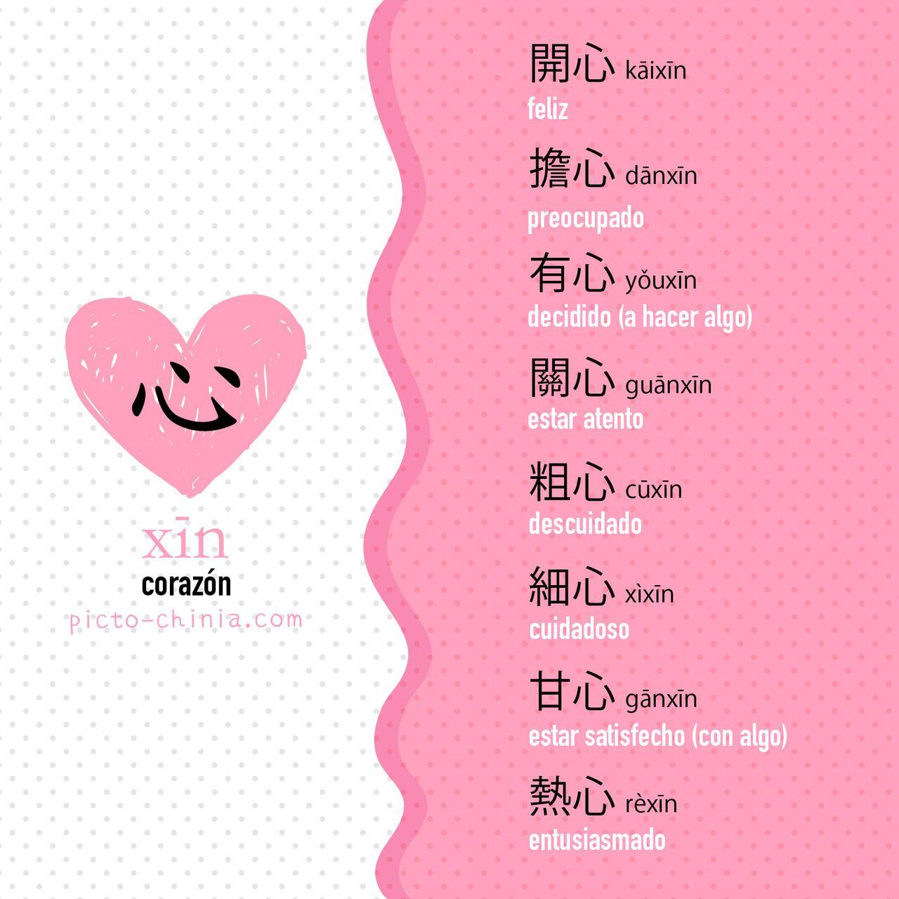 Pictochinia Idioma Chino Aprender Chino Escritura China
