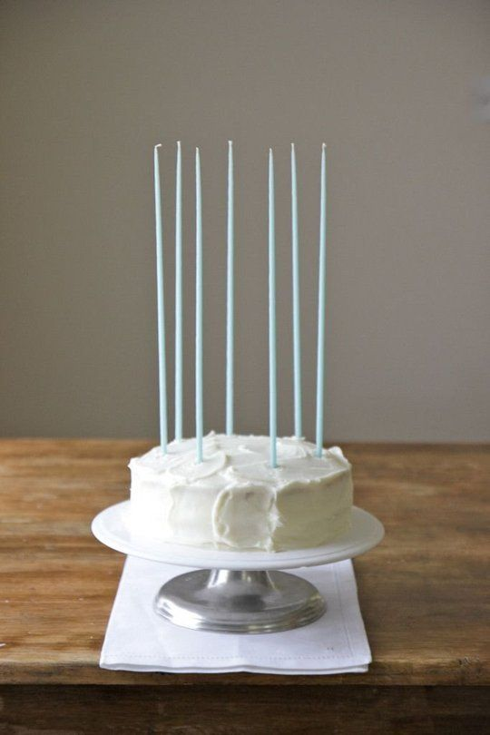 5 Beautiful Tall Birthday Candle Displays