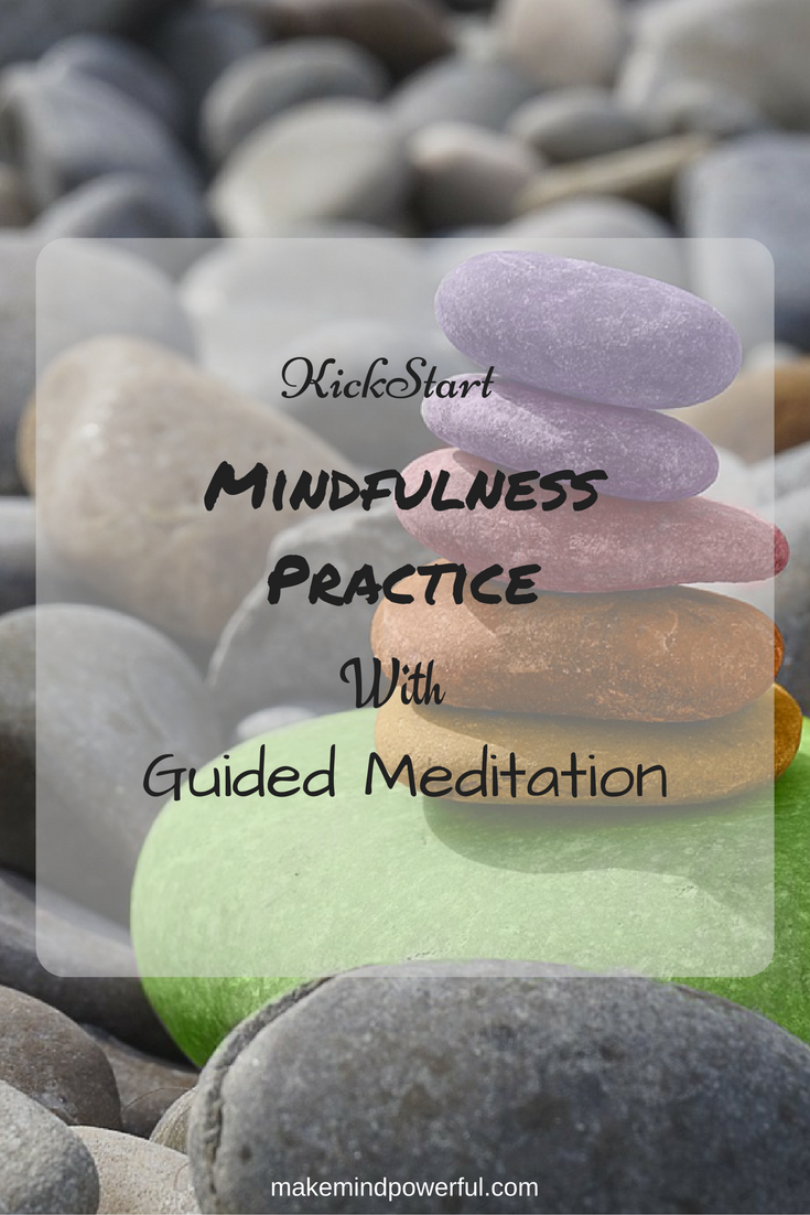 Without a doubt, if you are starting mindfulness meditation, you would find that guided meditation audio does calm your mind down quickly and get you started on the right foot.