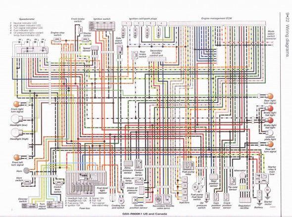 Gsxr 600 Wiring Diagram Pdf Di 2020
