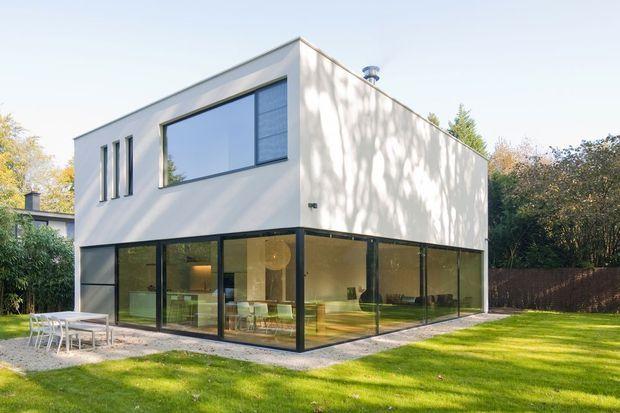 In beeld een compact huis met een enorm ruimtegevoel nieuwbouw ik ga - Foto modern huis ...