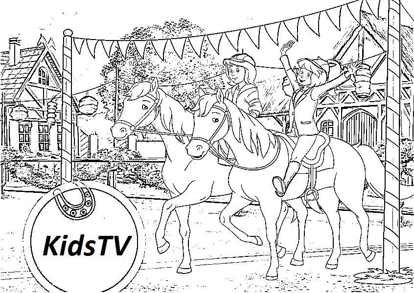 Ausmalbilder Bibi Und Tina Kostenlose Kids Ausmalbildertv Ausmalbilder Pferde Bilder Zum Ausmalen Ausmalbilder Zum Ausdrucken Kostenlos