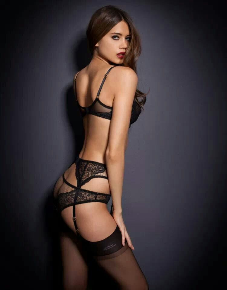 Nice Ass In Lingerie