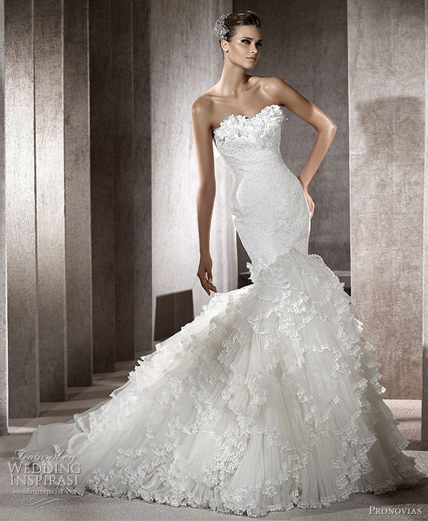 Pronovias Wedding Dresses 2012 Glamour Dreams Ball Gowns Bridal Collections
