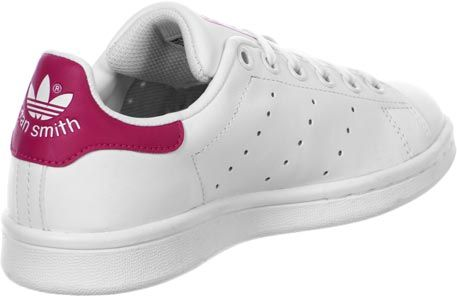 stan smith rose et blanche