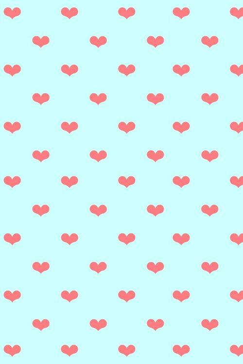 Little Hearts Cellphone Wallpaper Iphone Wallpaper Print Patterns