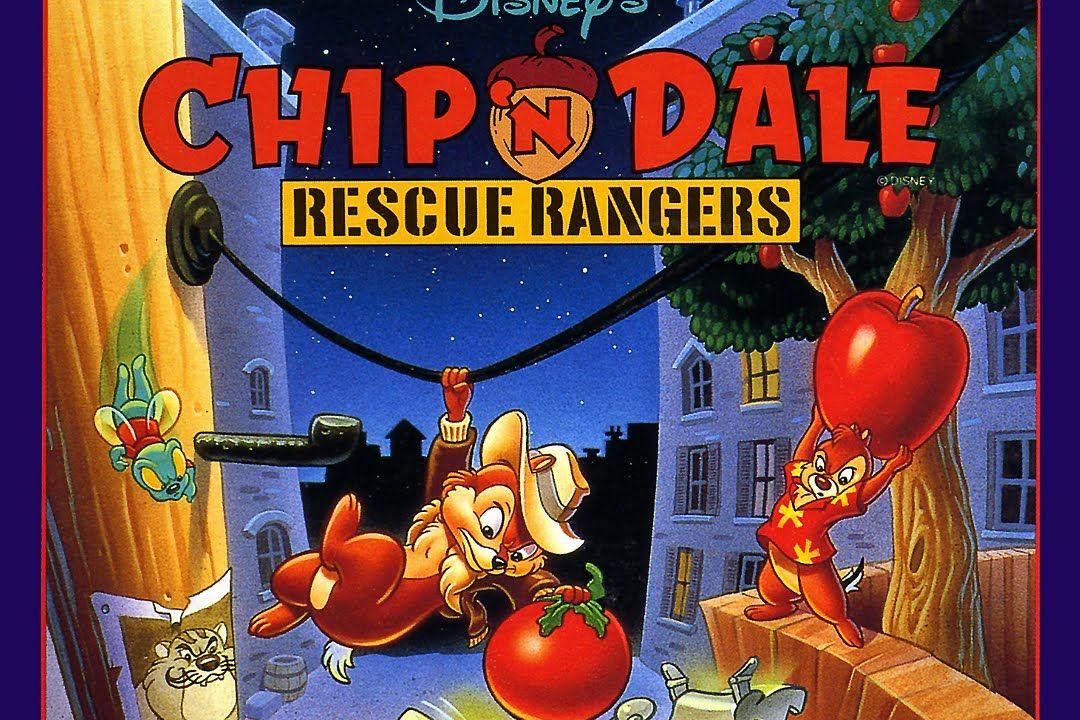 Gameplay Retrô - Chip 'n Dale: Rescue Rangers (NES)