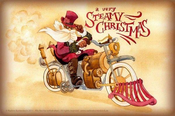 NOEL-STEAMY XMAS Card Making Pinterest Noel, Xmas and Santa