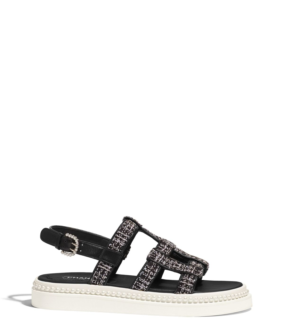 59ea74611e03 Shoes of the Spring-Summer 2019 Pre-Collection CHANEL Fashion collection    Sandals