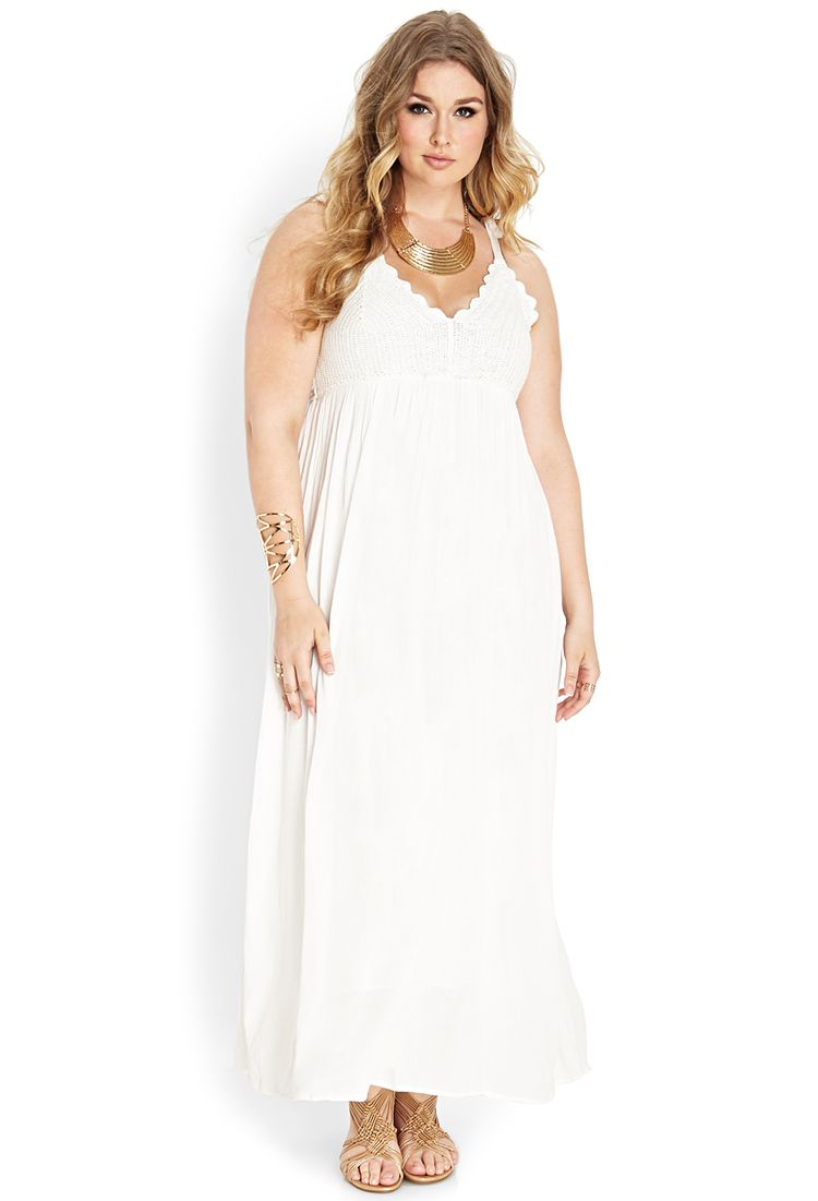 10 All White Plus Size Party Dresses | Forever21, Forever 21 and ...