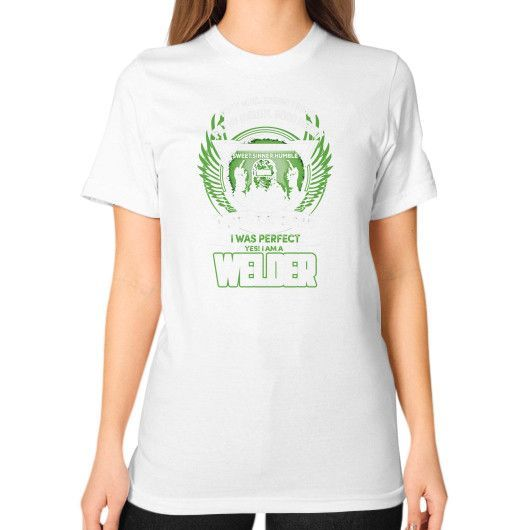 Yes im a welder Unisex T-Shirt (on woman)