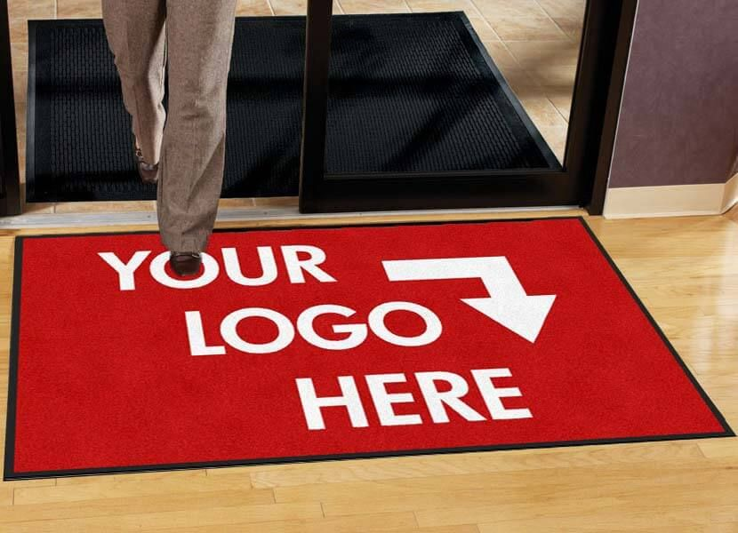 Custom Logo Mat Traditional Personalized Entrance Wiper Neon Signs For Sale Personalized Door Mats Custom Logos