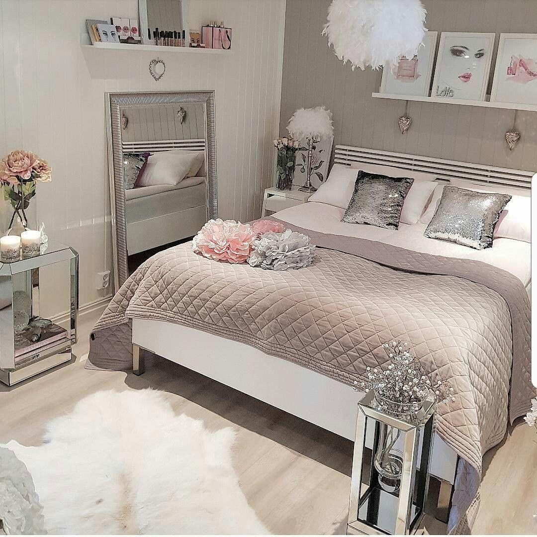12 Deco Chambre Romantique Chic   Bedroom decor, Home decor, Home ...