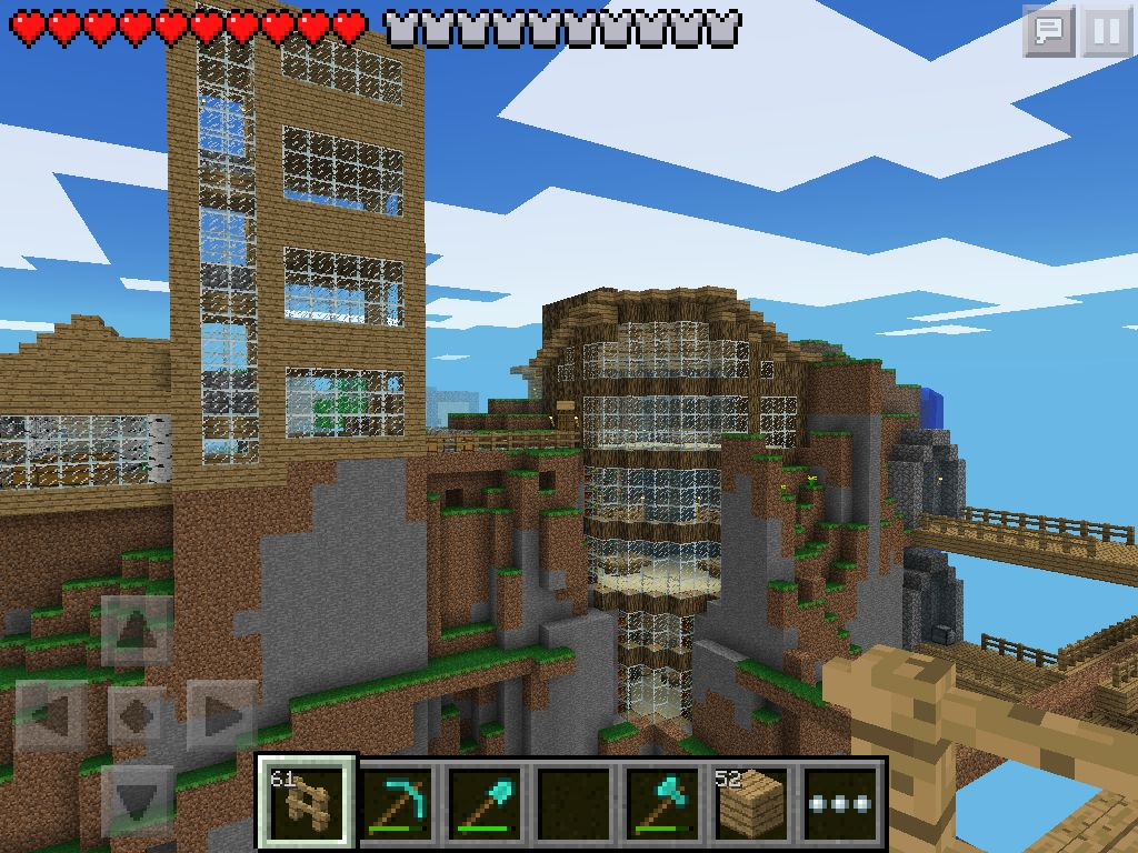 w2 library in minecraft pe