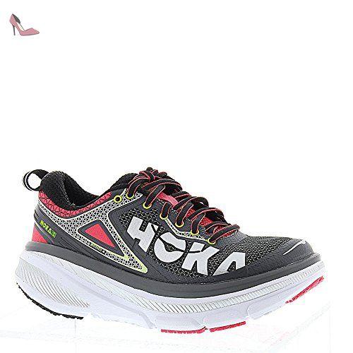 Hoka Femme Grise Bondi Chaussures 4 One De Et Rose Running rzrqSwt
