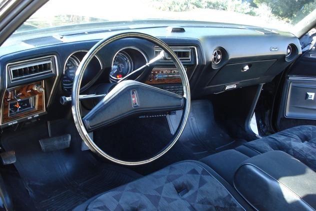 1976 Oldsmobile Cutlass Supreme Brougham Interior Oldsmobile Oldsmobile Cutlass Retro Cars