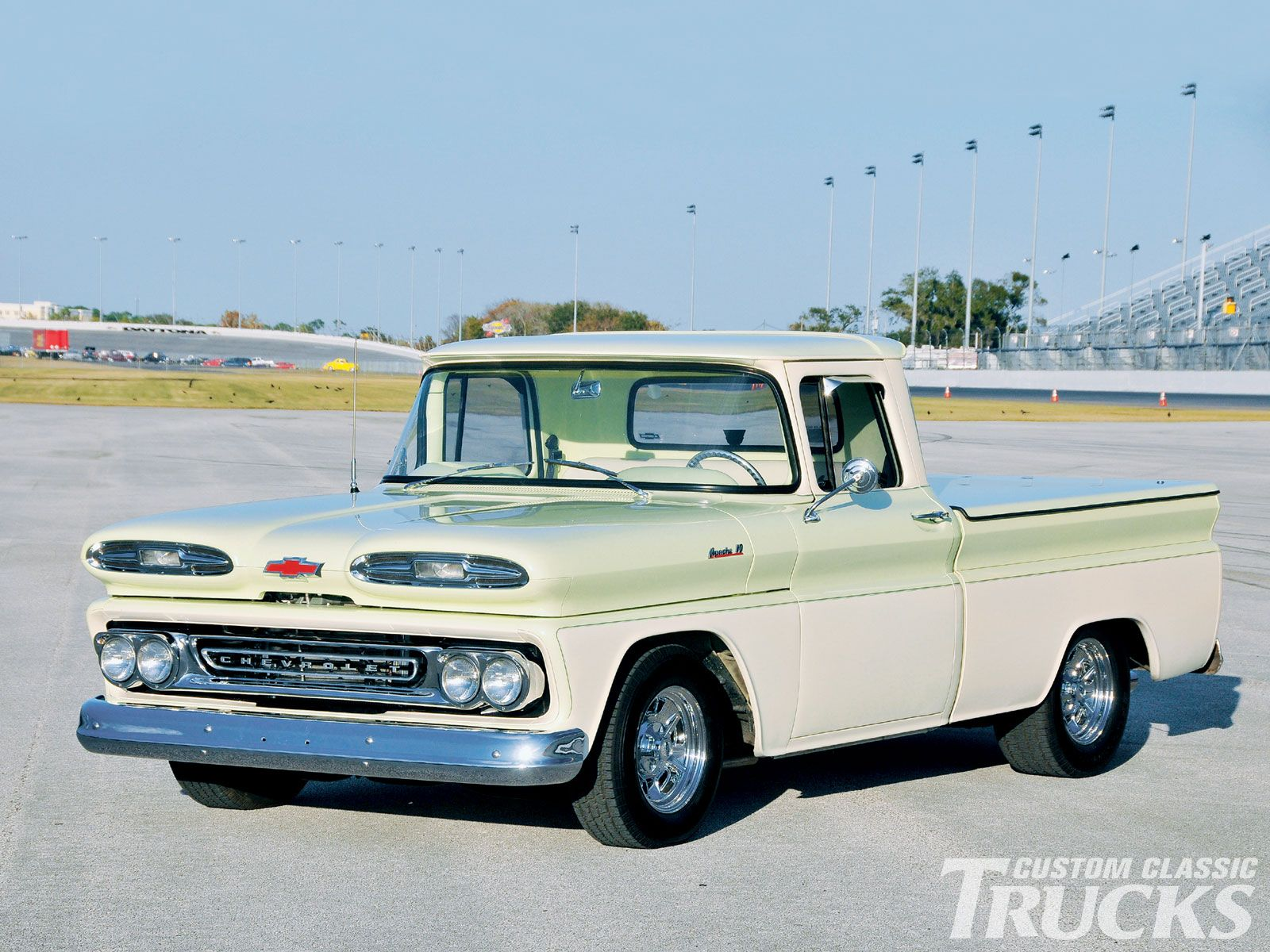 1961 Chevy Apache Pickup. ....Like going fast? Call or click: 1 ...