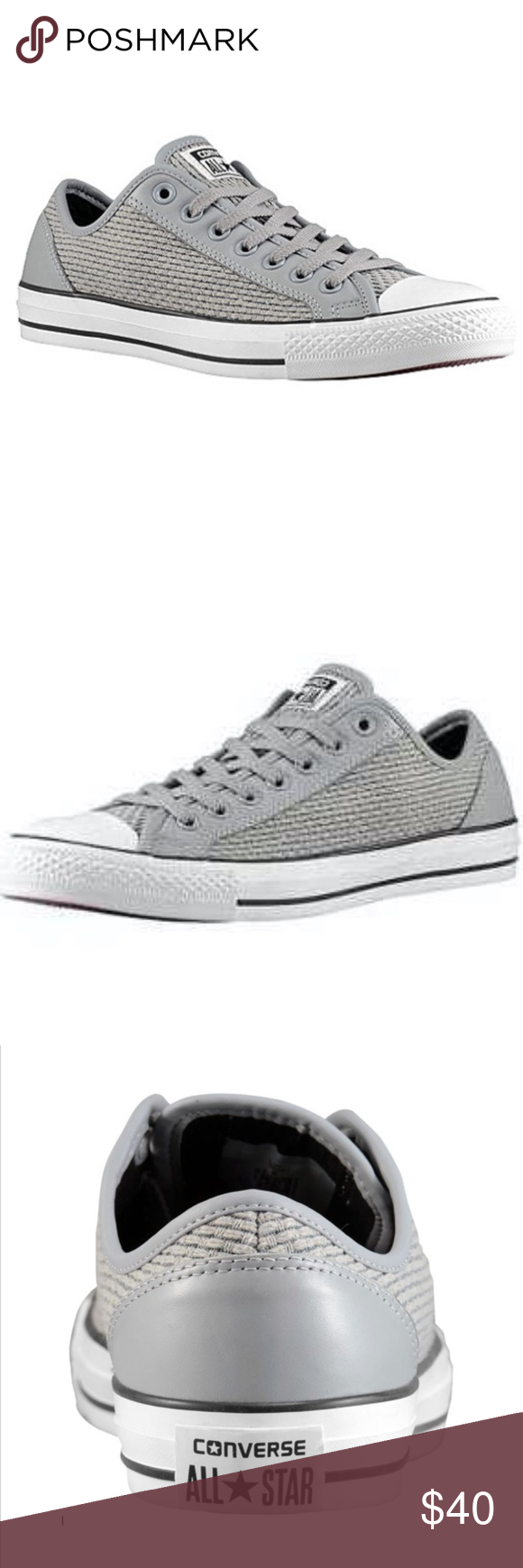 781163ed22be Converse CT Overlay OX Woven - Smoke Gray Slip into style with the Converse  All Star