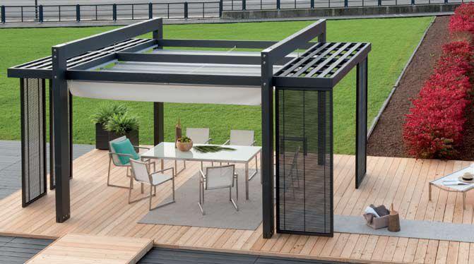 Pergola autoportante laria 1 architettura pinterest tenda architettura e idee - Pergolati in legno autoportanti ...
