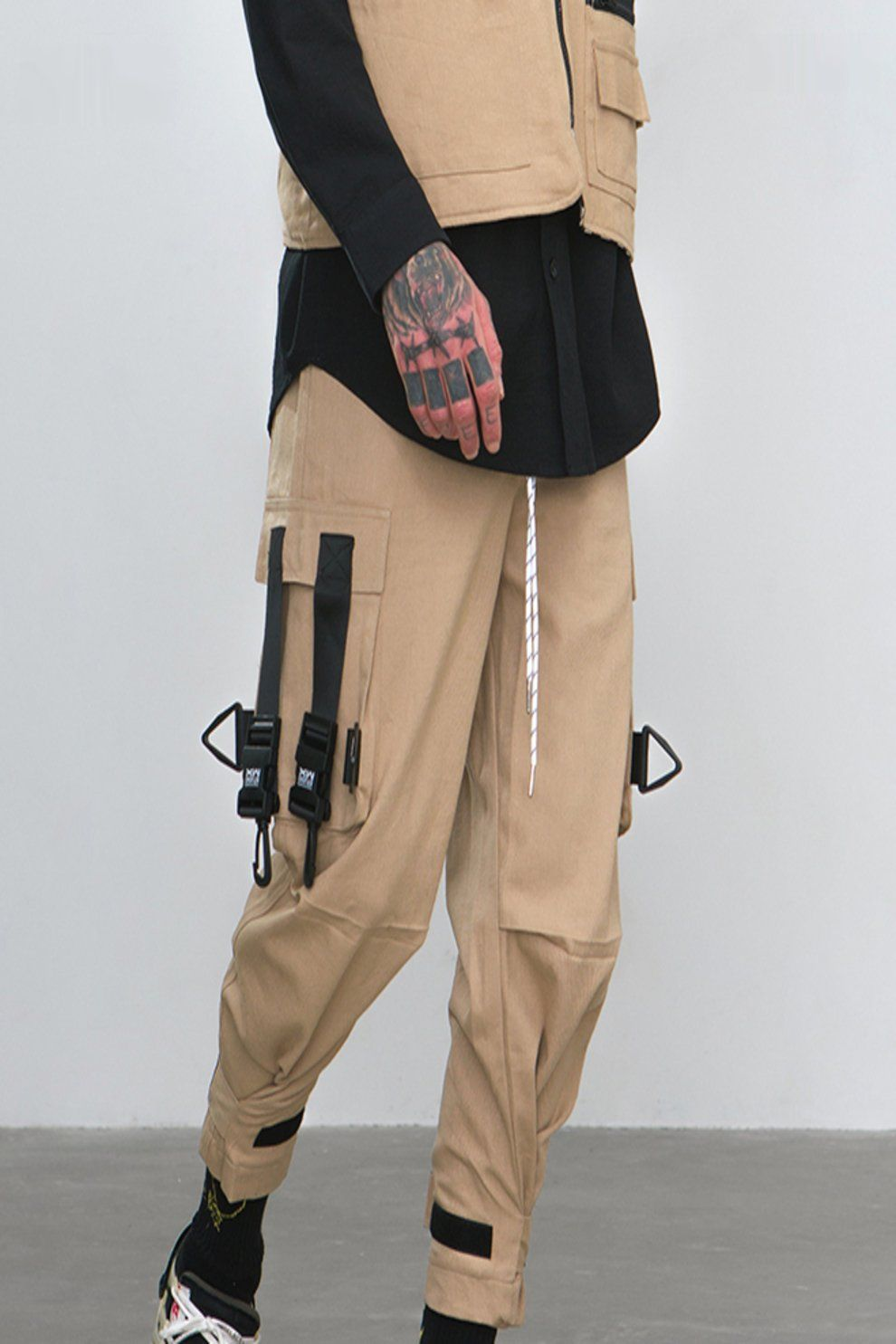 Audio Video Banded Cargo Pants #audiovideo