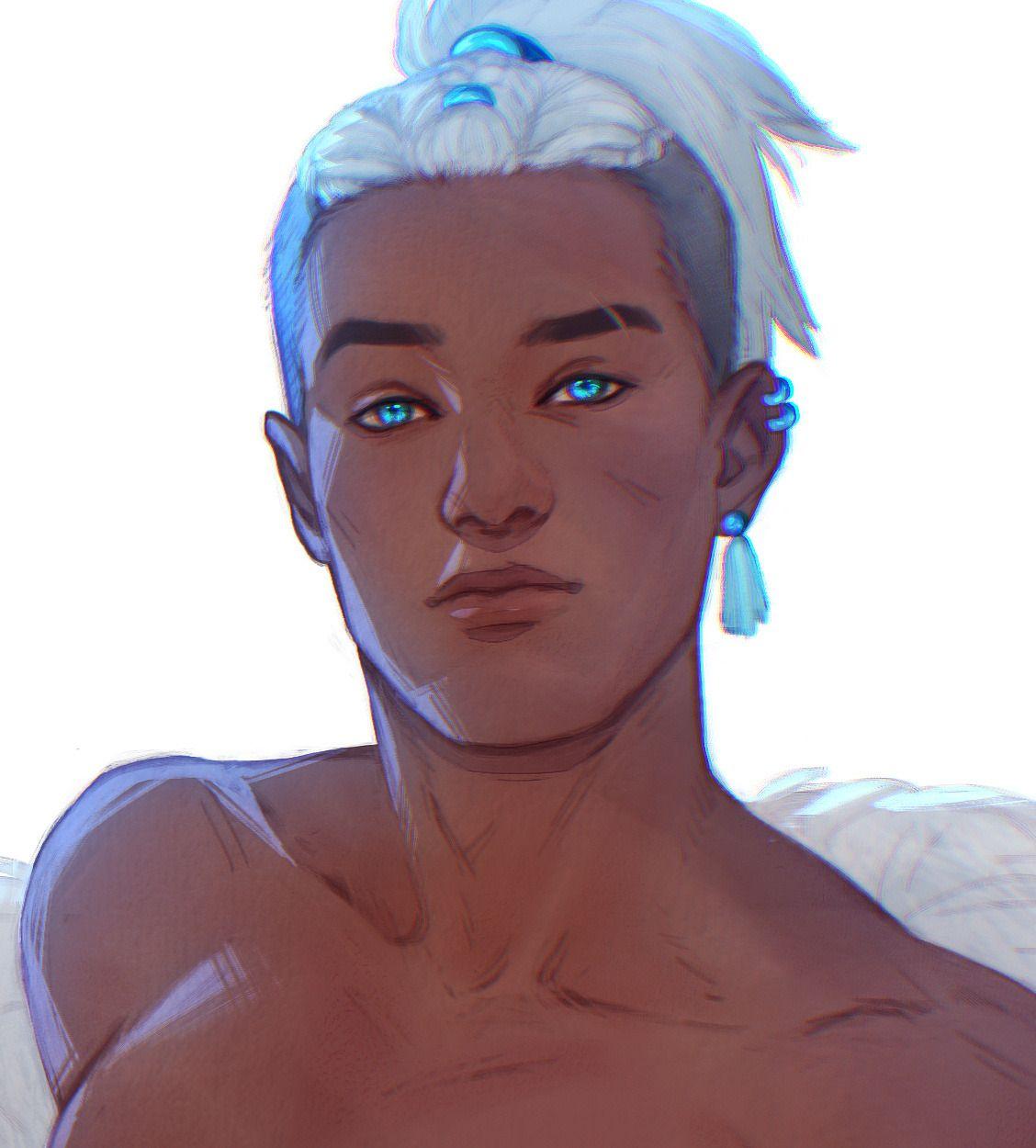 Sword Over Water Sokka White Hair Zuko In 2020 The Last Avatar Avatar The Last Airbender Art Avatar The Last Airbender