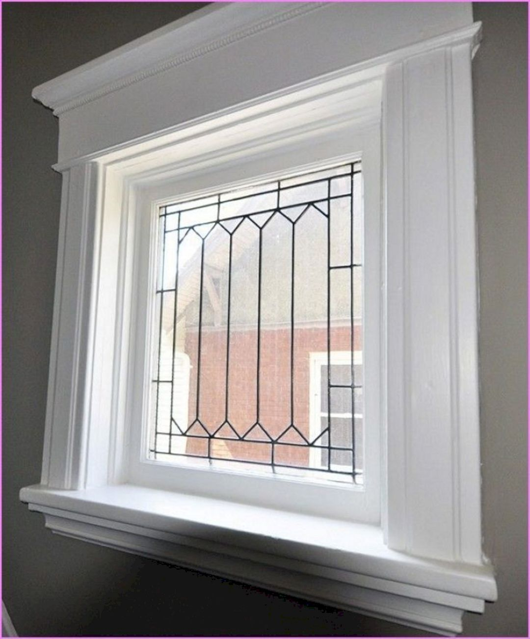 18 Best Inspiration Window Design Ideas You Can Try For Your Home Teracee Interior Windows Window Design Interior Window Trim